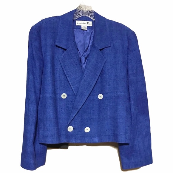 COPY - Christian Dior Vintage Silk Blend Blazer